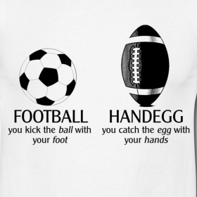 Football is not Handegg.