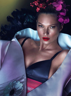 W Magazine - March 2013 - Kate Moss by Mert & Marcus