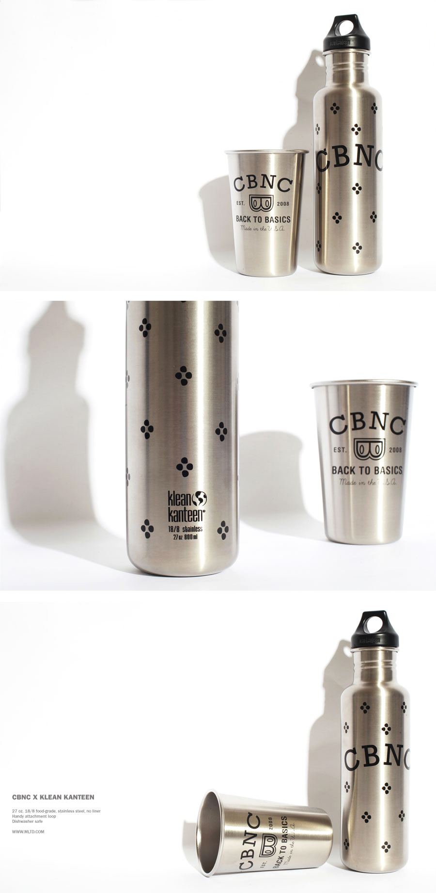 CBNC x Klean Kanteen - Now Available here! Photo: Danny Steezy