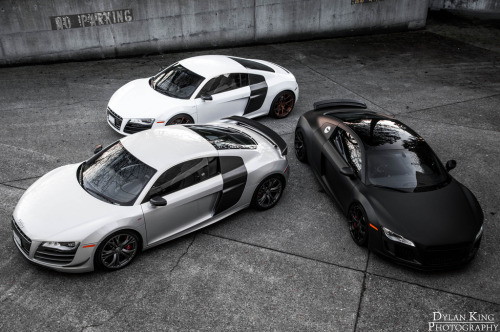 Triplets Starring: Audi R8 (by Dylan King Photography)