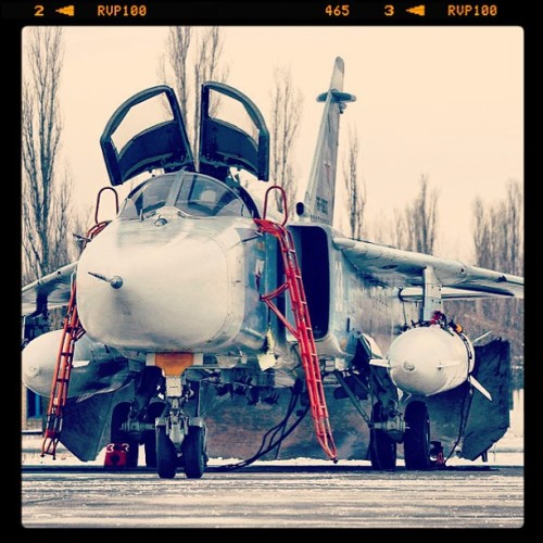 #su-24 #air #forces #old #airplane #weapons