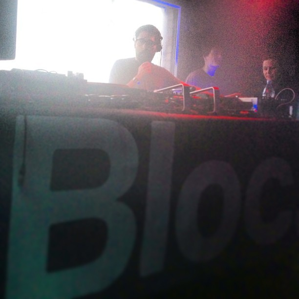 @CosminTRG during his set for Bloc.