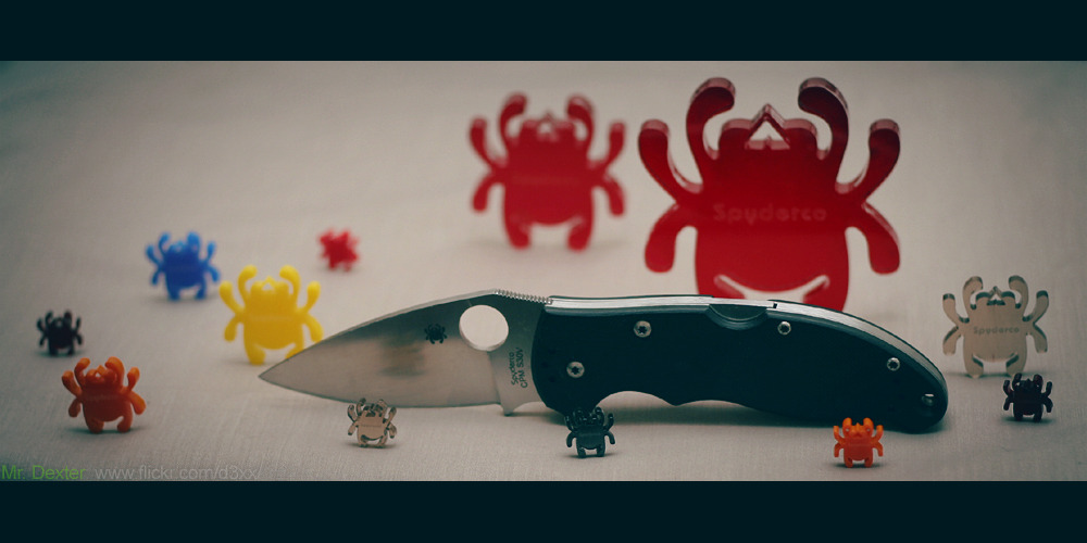 Spyderco Mini Manix 83mm s30v Purchase on Amazon / Photo By: Mr. Dexter