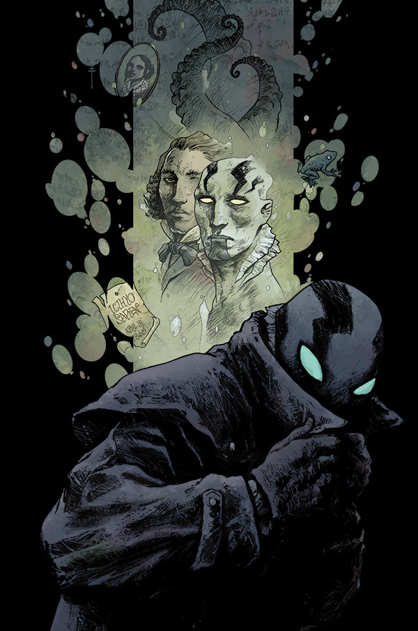 Abe Sapien, The Dark and Terrible by Sebastián Fiumara Artist blog / facebook