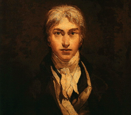 fuckyeahhistorycrushes:  JMW Turner, romantic artist best known for his tormented seascapes and brilliant usage of light in his paintings. Also, as this self portrait shows, a total dreamboat.
