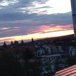 #goodnight #aschaffenburg #germany #sky #sundown