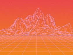 mountains Abstract cinema 4d