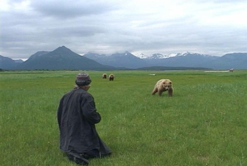 Werner Herzog/Timothy TreadwellGrizzly Man (still)