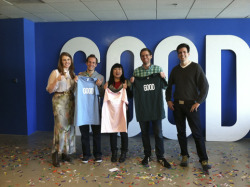 Coding for GOOD: The Results are In, Meet Our Winner- GOOD Partnerships wrote in Education Los Angeles and Hack A Thon  Last October, GOOD and Apollo Group announced the launch of Coding for GOOD, an opportunity to gain skills in coding and, for one lucky participant, a chance to work with us here at GOOD. The program is our effort to bridge the skills gap through real-world application. Participants had eight weeks to take sixteen free coding lessons and submit a final project using the skills they learned. This past weekend the top three finalists were flown to Los Angeles for a hack-a-thon at the Google offices. And now, after months of learning lessons and a busy weekend of developing, we are happy to announce that the Coding for GOOD winner is…  Find out who won on good.is!