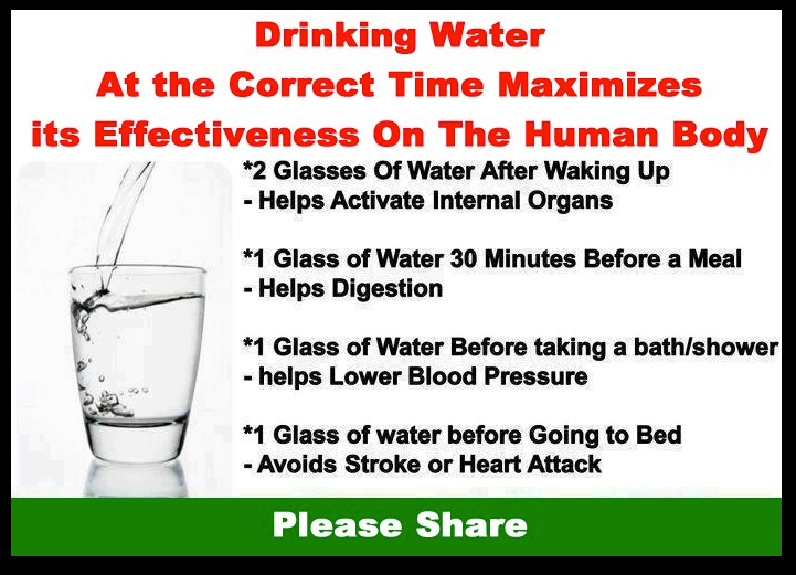 "emily-does-healthy:  We always hear and say, ""drink more water!"". Drinking glasses at the correct times can actually boost the already helpful effects!"