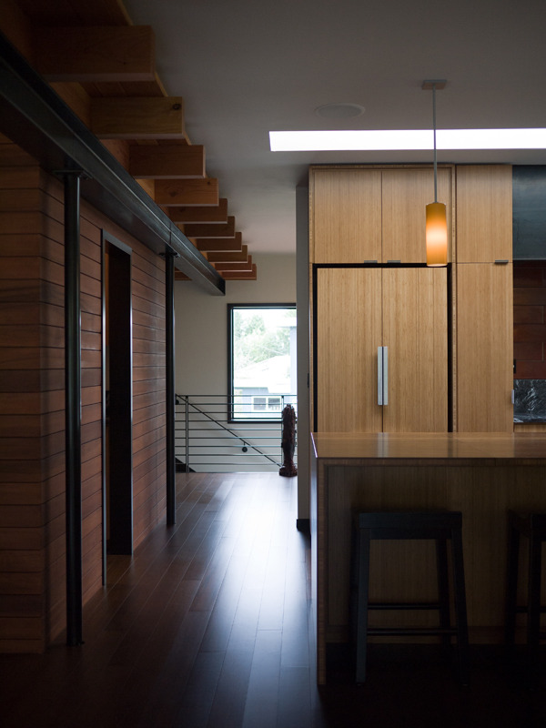 wabi treehouse | kitchen + pantry ~ erich remash architect