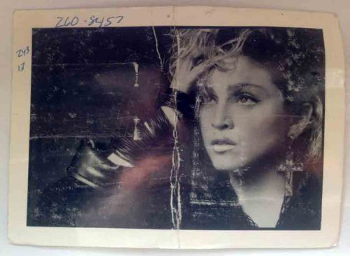 #Madonna original test print for Island Magazine 1983