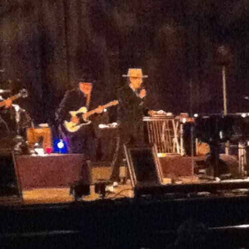 Bob Dylan at University of Delaware (: thank you @cmeds29 for coming with me 💖