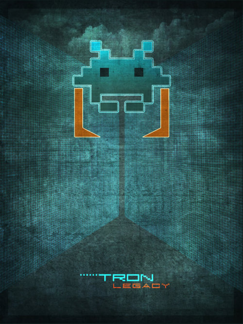 Tron: Space Invader Recognizer by *pacalin