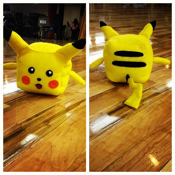 Ahhhh!!! My Pikachu block!! #pokemon Thanks to Tiffanie Vong!