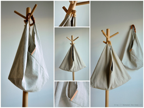 Triangle Bag {How to} Found at: pm-betweenthelines