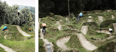 off-tha-trails:  http://www.pinkbike.com/news/Seasons-of-Shred-Martin-Soderstrm-AT-Niki-Leitner-Riding-Roulette-2013.html