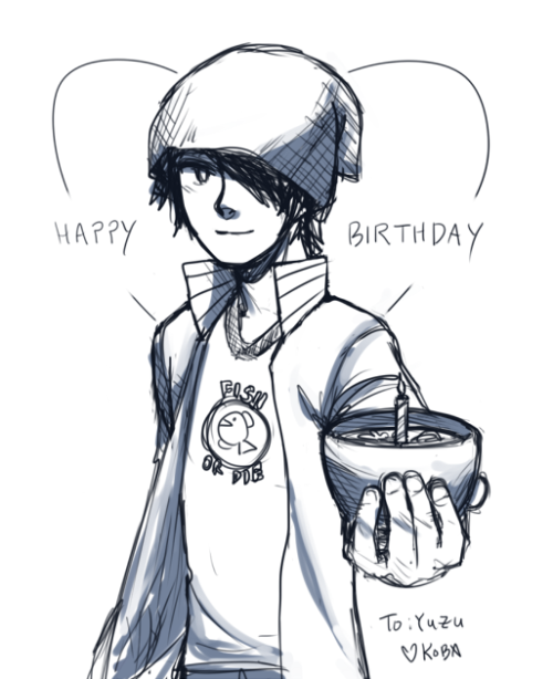there are so many birthdays this week! anyways this one is for yuzu because she's a fellow jungo fan.. =v=