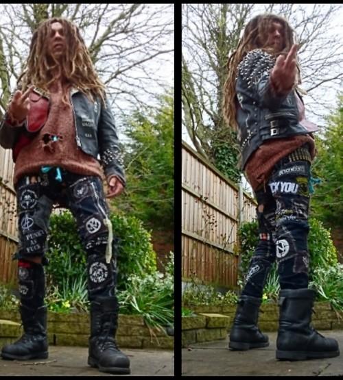 Crusties Army Boots Dreadlocks Crust Pants Unwashed Punk