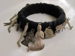 "missmarpling:  Milagros bracelet from Catherine McEver's blog ""Stuff You Can't Have"" http://stuffyoucanthave.blogspot.gr/"