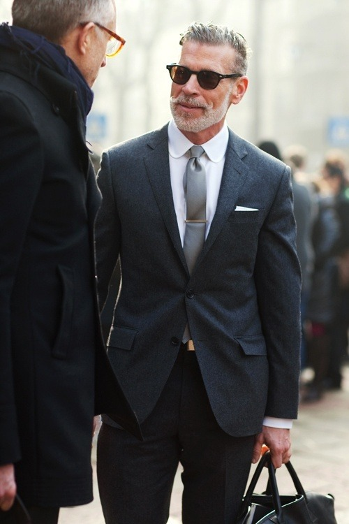 suitboss:  Mr. Wooster showing us how to rock the club collar | If you know……More men's fashion.