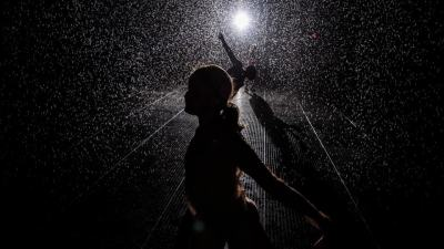 Rain Room at MoMA, New York City