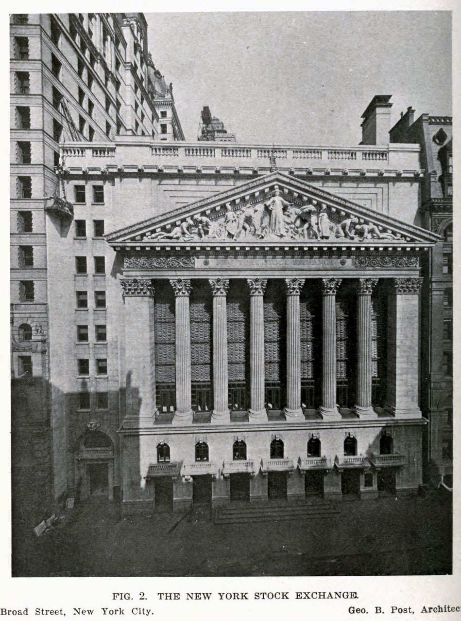 George Post's Stock Exchange Building, New York City