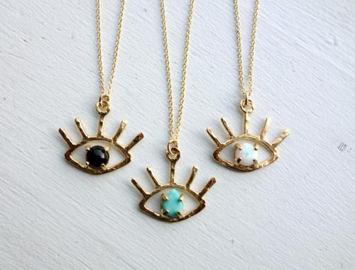 eye turquoise onyx opal jewelry fashion blog shopping blog necklace accessories under 70 rachelpfefferdesigns