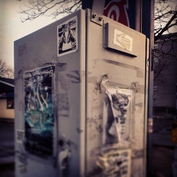 showin up and throwin up #hvyhnds #613 #street #stickerart