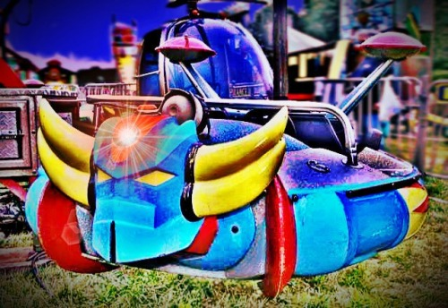 Streamzoo photo - Grendizer park ride
