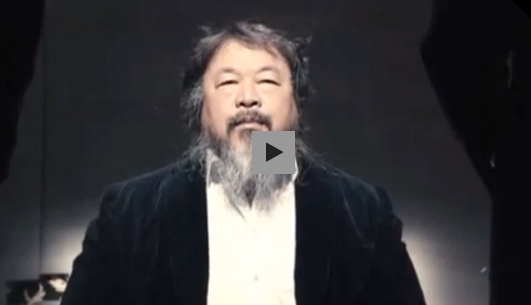 "fastcompany:  Chinese artist Ai WeiWei has created his first music video, for his single called ""Dumbass."" The video recreates the environment of his 2011 prison stay right down to the wallpaper. Weiwei sees ""Dumbass"" as a kind of therapy, and an activist message all by itself—it contains criticism of Chinese intellectuals who are trying to change China from within the system. Watch."