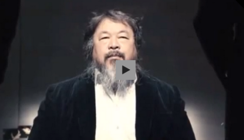 "Chinese artist Ai WeiWei has created his first music video, for his single called ""Dumbass."" The video recreates the environment of his 2011 prison stay right down to the wallpaper. Weiwei sees ""Dumbass"" as a kind of therapy, and an activist message all by itself—it contains criticism of Chinese intellectuals who are trying to change China from within the system. Watch."
