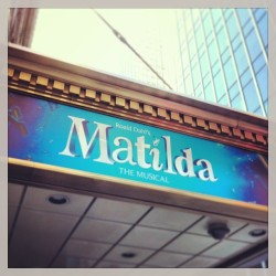 Officially seeing Matilda The Musical on March 18th!