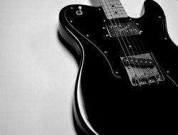 axestasy:  the-queen-of-spade:  Used guitar  black Tele
