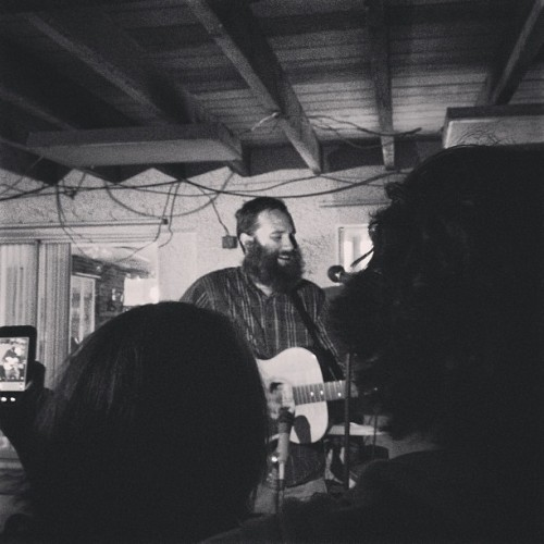 trio-fi:  Paul Baribeau in Miami last night.