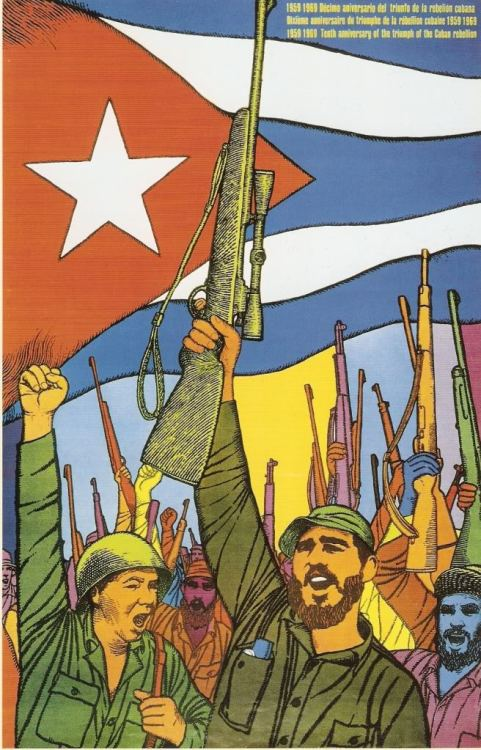 fuckyeahmarxismleninism:  January 1, 1959: Victory of the Cuban Revolution against U.S.-backed Batista regime; first free territory of the Americas established.