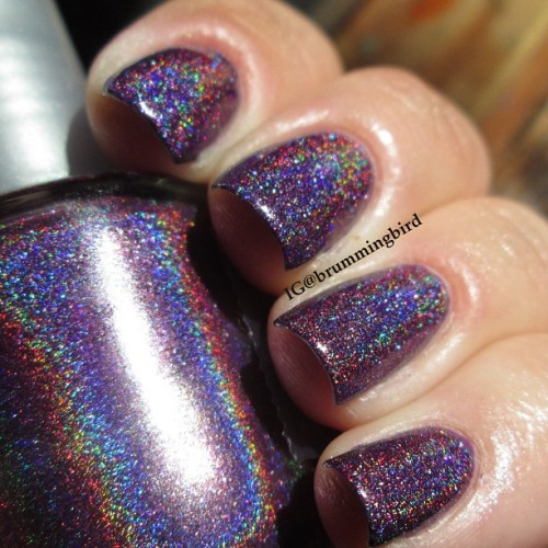 truthteller:  OPI DS Extravagance + SpectraFlair SF35