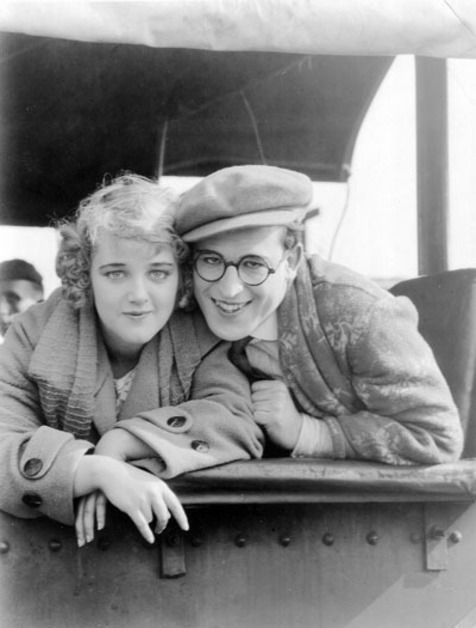 fyeah-haroldlloyd:  Mildred Davis and Harold Lloyd - c. early1920's