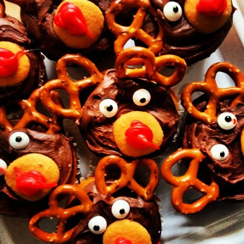 Reindeer Cupcakes For Breakfast (at Lady Lake, FL)