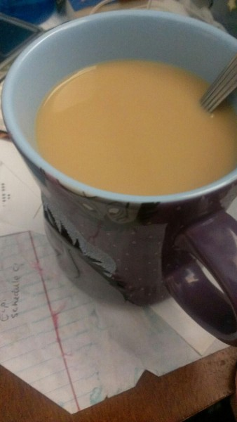 (Day 93/365; 051913): Mmmm a cup of coffee to help me get through my loads of homework.