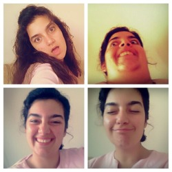 I made some faces for your enjoyment. Yes,the third one is me being normal.