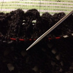 Loving my ChiaoGoo interchangeable needles! #knitting