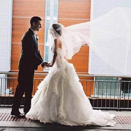 Wow! Can't stop looking at this wedding gown my sister @nat4truelove recently made - Gorgeous skirt created out of 60 meters of Pearl Organza! 😍 #photooftheday #truelovecouture #wedding #bride #dress #beautiful #girl #love Brides-to-be, my sis is a must see! (02)9725 6577 xx