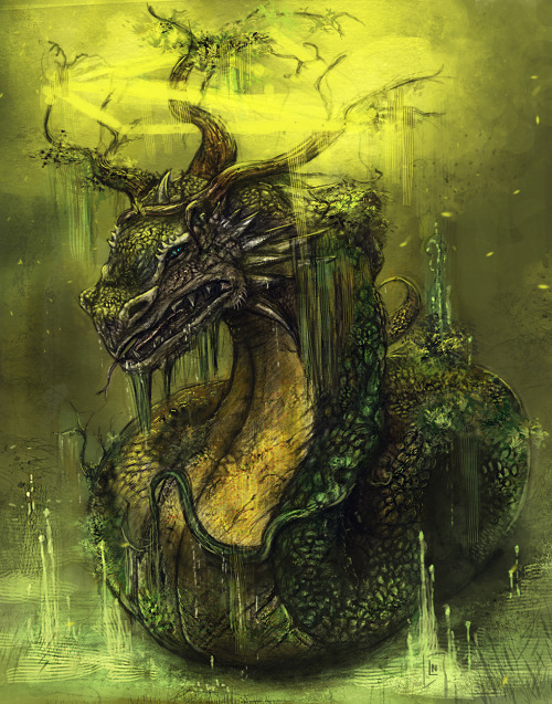 Swamp dragon for fun http://blackassassin999.deviantart.com/art/Swamp-dragon-367926528