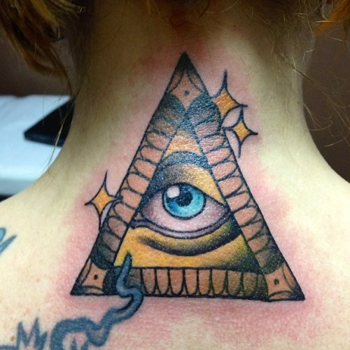 The gallery for illuminati triangle eye tumblr for Vagina tattoo tumblr