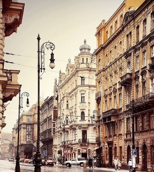bluepueblo:  Street Lamps, Prague, Czech Republic