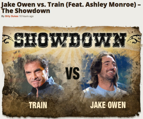 "‎""Bruises"" featuring Ashley Monroe is now up in Taste of Country's ""Showdown"". We know you can help us win this, vote here."