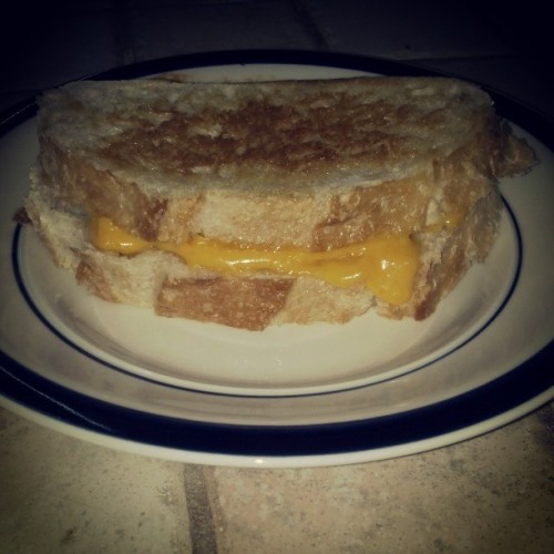 So fancy. #sourdough #grilledcheese  (at Technodrome)