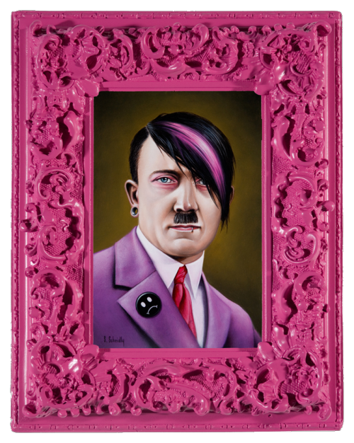 transparentjunkie:  Emo Hitler by Scott Scheidly transparent☠