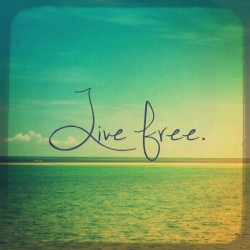 Live free.  #throwbackthursday #vacation #cuyo #island #philippines #typography #travel #quote #backpacking #mystuff #summer (at Cuyo Island, Philippines)